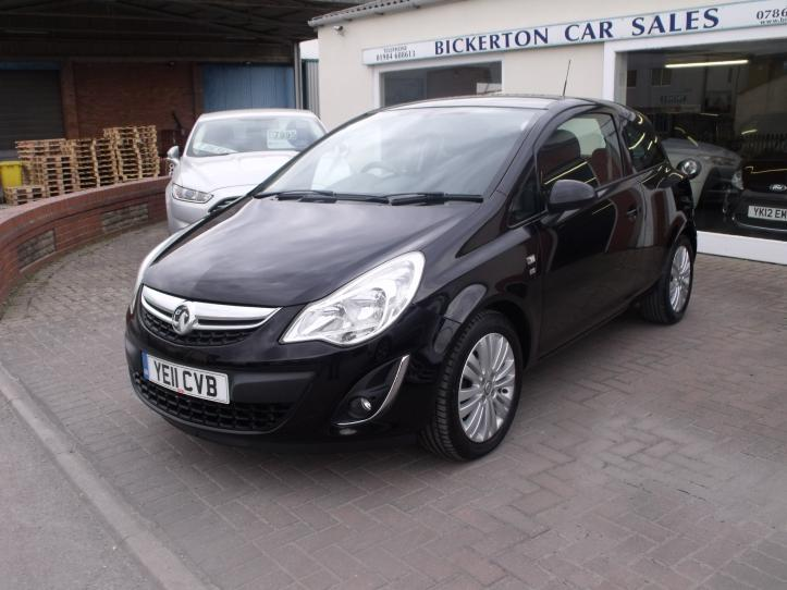 YE11CVB - Vauxhall Corsa 1.4 Excite 3 Door Hatchback 1398cc