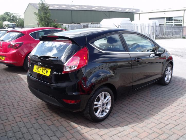 YR17VCW - Ford Fiesta Zetec 1.0 Turbo Ecoboost 3 Door Hatchback 999cc