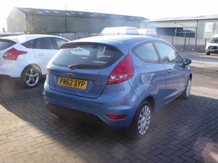 PN62 SYP - Ford Fiesta 1.2 Edge 82bhp 3 door hatchback 1242cc