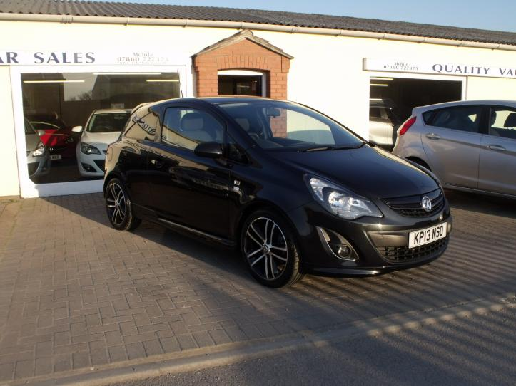 KP13NSO - Vauxhall Corsa 1.4 turbo limited edition 3 door hatchback 1400cc