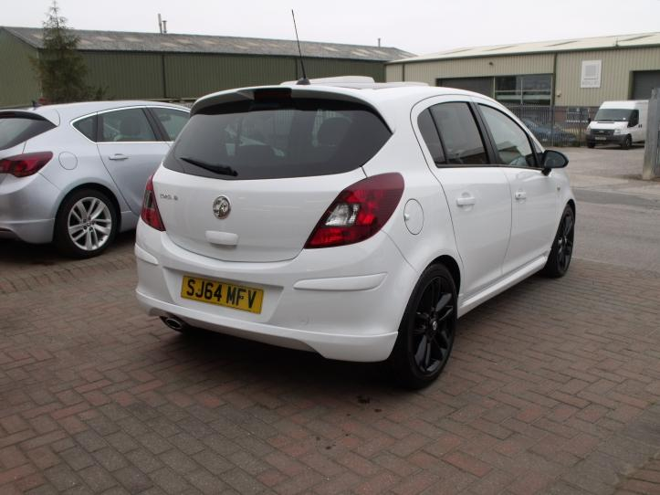 SJ64MFV - Vauxhall Corsa 1.2 Limited edition 5 door hatchback 1248cc