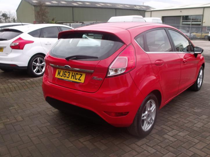 MJ63 HCX - Ford Fiesta 1.2 Zetec 5 door hatchback 1242cc