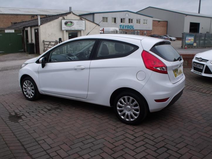 OV61UTL - Ford Fiesta 1.25 Edge 3 door hatchback 1242cc