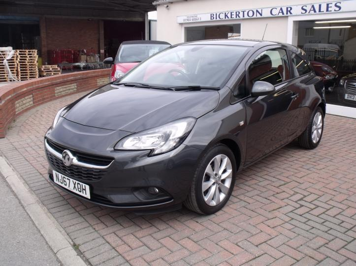 NJ67 XOH  - Vauxhall Corsa 1.4 Energy 3 door hatchback 1398cc