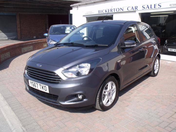 YS67 TKO - Ford KA  Zetec 1.2 5 door hatchback. 1200cc