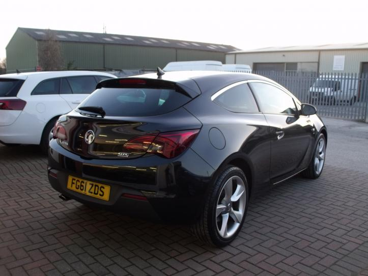 FG61 ZDS - Vauxhall Astra GTC sri 1.6 turbo 180bhp 3door coupe 1600cc