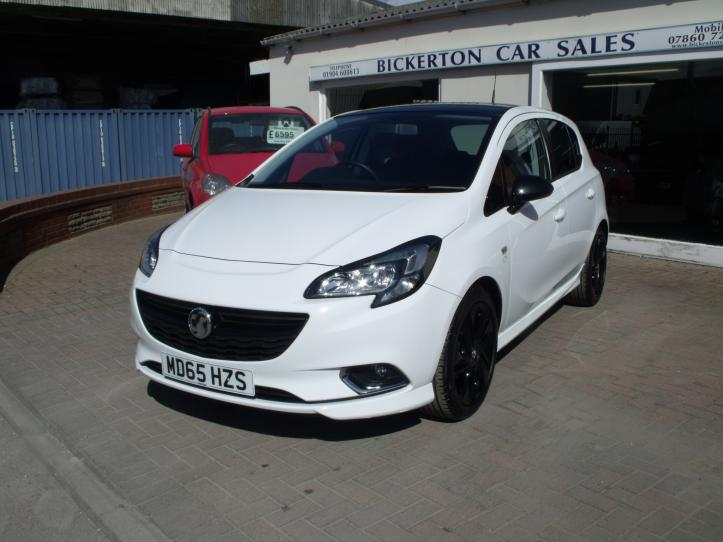 MD65HZS - Vauxhall Corsa 1.4 limited edition 5 door hatchback 1400cc