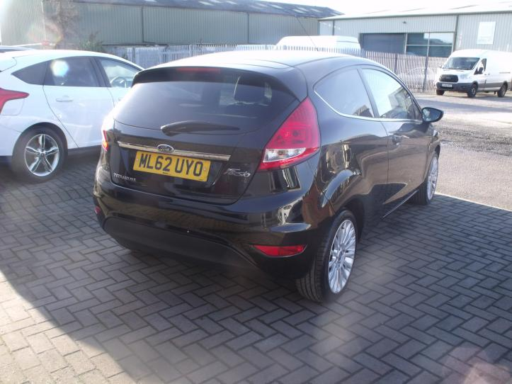 ML62 UYO - Ford Fiesta Titanium 1.4 Diesel 3 door hatchback 1399cc