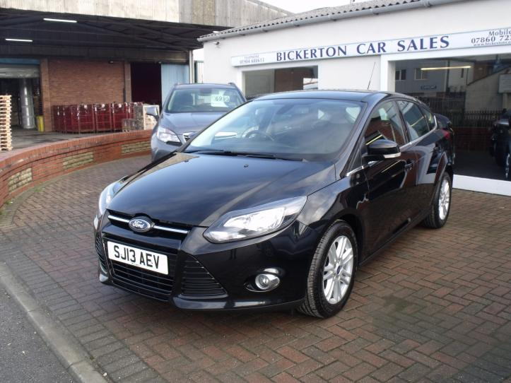 SJ13 AEV - Ford Ford Focus Titanium 1.0 Turbo 125 bhp 5 Door Hatchback 998cc