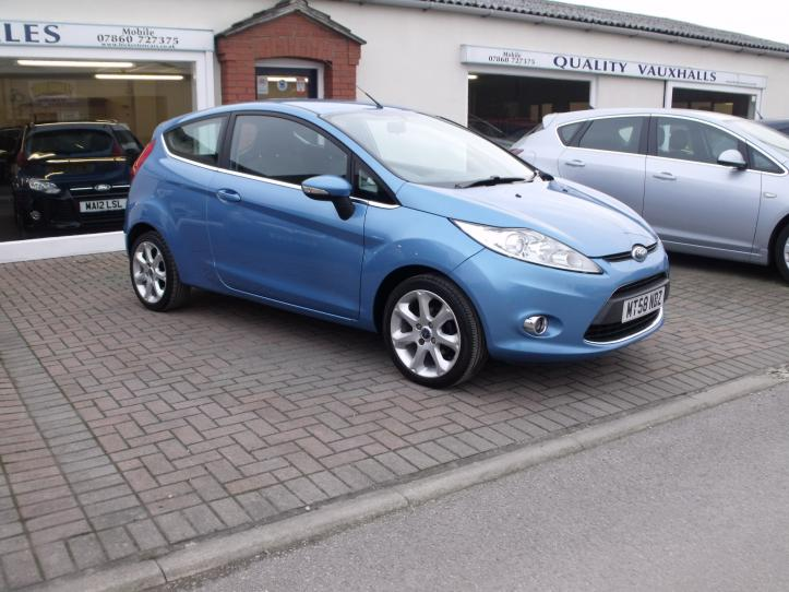 MT58 NBZ - Ford Fiesta 1.25 Zetec 82ps 3 door hatchback 1242cc