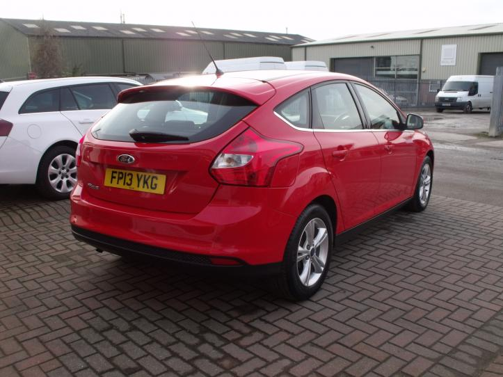 FP13 YKG - Ford Focus 1.6 Zetec 5 door hatchback 1596cc
