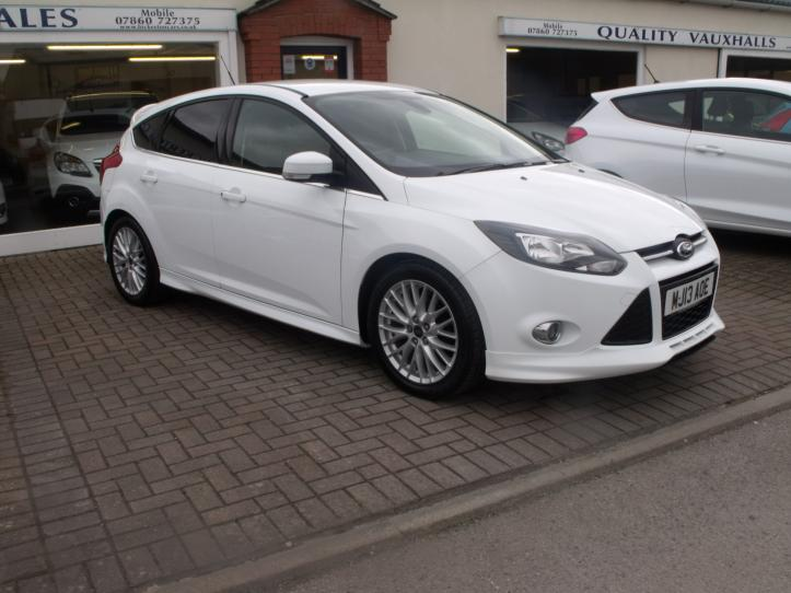 MJ13AOE - Ford Focus 1.0 Zetec S Turbo 5 door hatchback 998cc