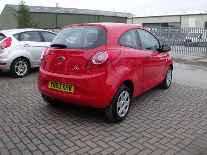 YN63XRW  - Ford KA Edge 3 door hatchback 1242cc