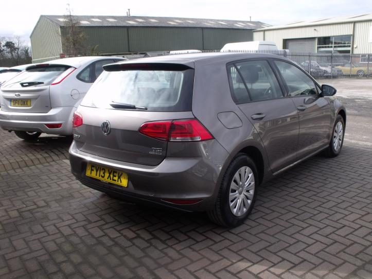 FY13XEK - Volksagen Golf S  BlueMotion 1.2 TSI 1197cc