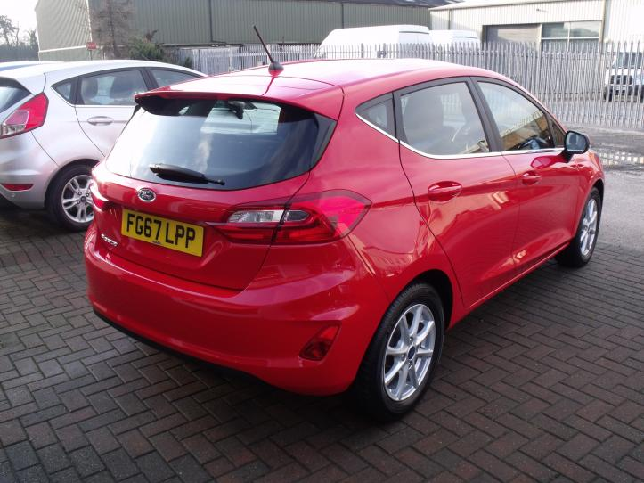 FG67 LPP - Ford Ford Fiesta 1.1 Zetec 5 door Hatchback New Shape 1084cc
