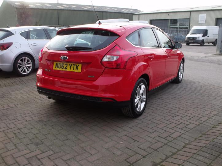 NU62YTK - Ford Focus 1.0 Turbo Ecoboost Zetec 5door hatchback 998cc