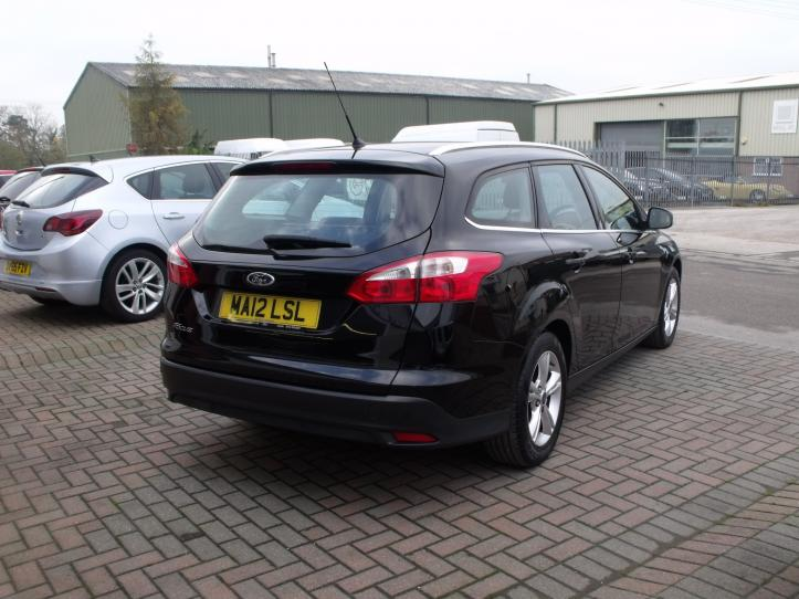 MA12 LSL - Ford Focus 1.6 Zetec 125bhp Estate 1600cc