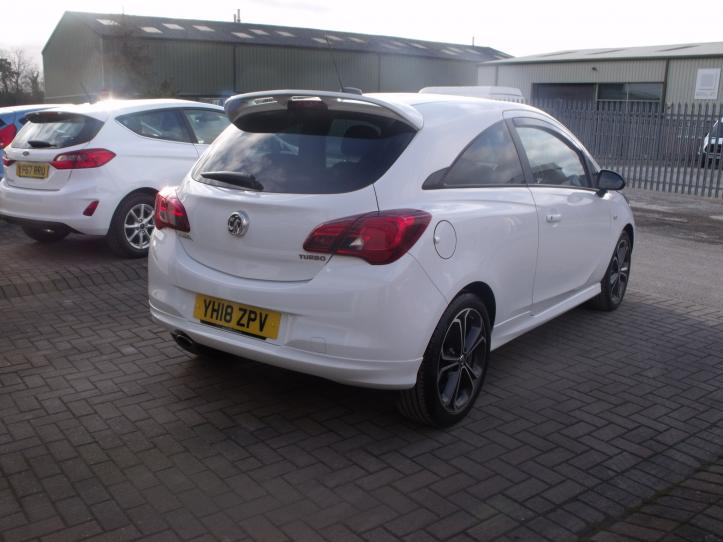 YH18ZPV - Vauxhall Corsa 1.4 Turbo 150bhp Limited Edition 3 door hatchback 1400cc
