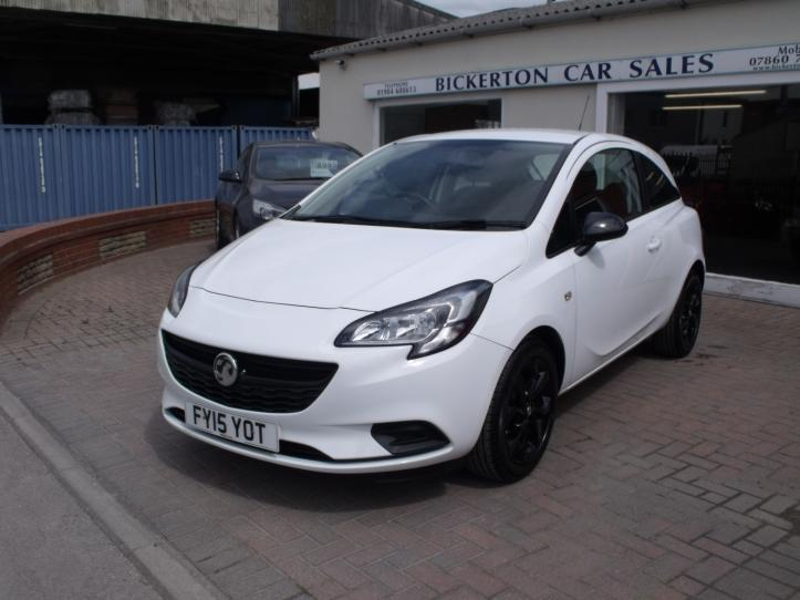 FY15 YOT - Vauxhall Corsa 1.0 turbo sting R ecoflex 115bhp 3 door hatchback limited edition 999cc
