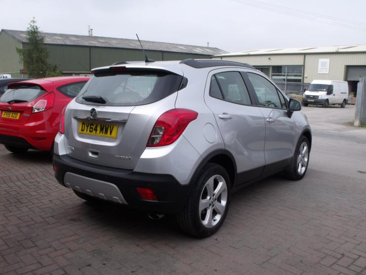 DY64 MWV - Vauxhall Mokka 1.4 turbo exclusive mpv 4x4 1400cc