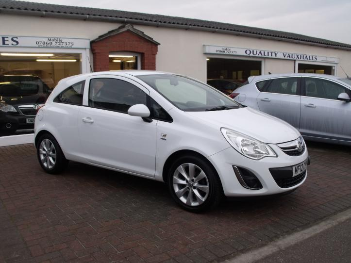 MF12 CYY - Vauxhall Corsa 1.2 Active 3 door  hatchback   1229cc