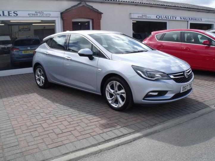 DS17 TXE - Vauxhall Astra SRI Turbo 1.4 150 bhp 5 door Sat nav 1399cc