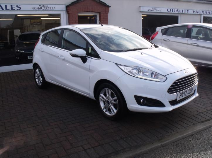HY17 UZR - Ford Fiesta Zetec 1.0 Turbo Ecoboost  5 Door Hatchback 998cc