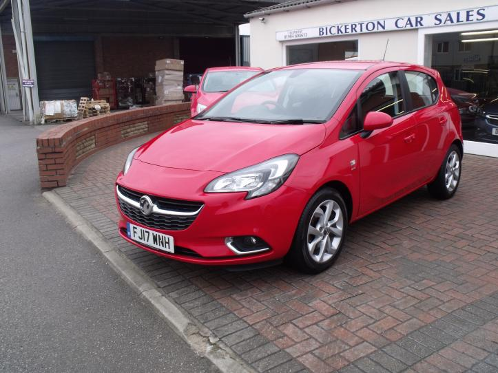 FJ17 WHN - Vauxhall Corsa 1.4 SRI Turbo 5 Door Hatchback 1364cc