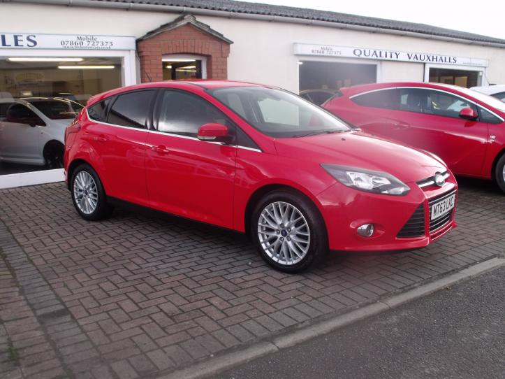 MT63LKC - Ford Focus 1.0 EcoBoost Zetec 5 door hatchback 998cc