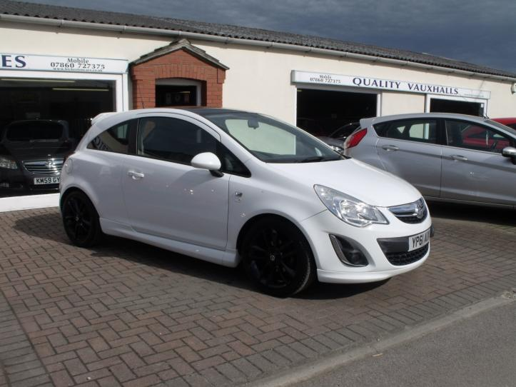 YP61 AUX - Vauxhall Corsa 1.2 Limited Edition 3 door hatchback 1229cc