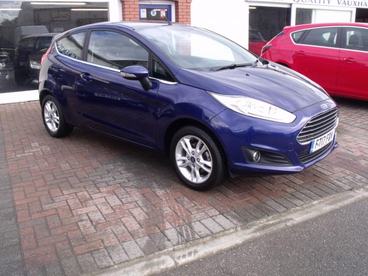 FT17 FDV - Ford Fiesta 1.25 Zetec 3 Door hatchback 1242cc