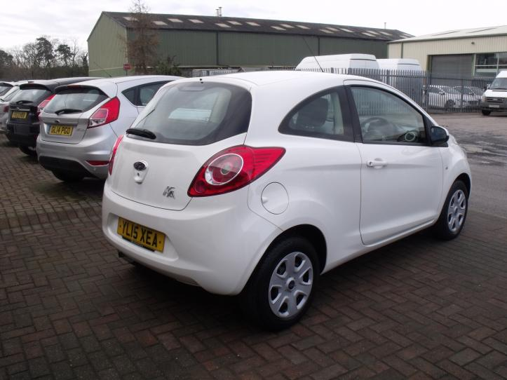 YL15 XEA - Ford KA Edge 3 Door Hatchback 1242cc