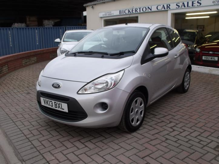 VK13 BXL - Ford KA Edge  3 door hatchback 1242cc
