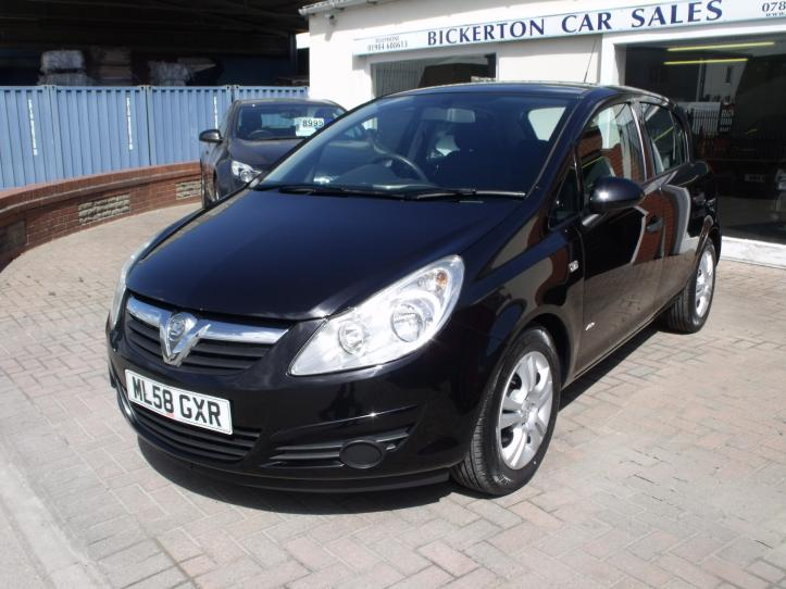 ML58 GXR - Vauxhall Corsa 1.2 Active 5 door hatchback 1229cc