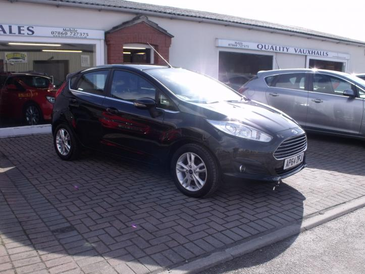 AP64 DFJ - Ford Fiesta 1.6 Zetec  Automatic 5 door hatchback 1600cc