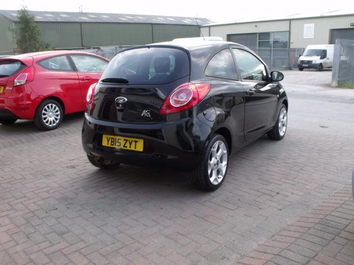 YB15ZYT - Ford KA Zetec 3 door hatchback 1242cc