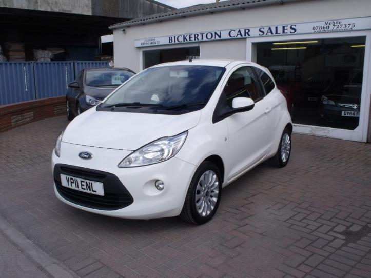 YP11 ENL - Ford KA Zetec 3 door hatchback 1242cc