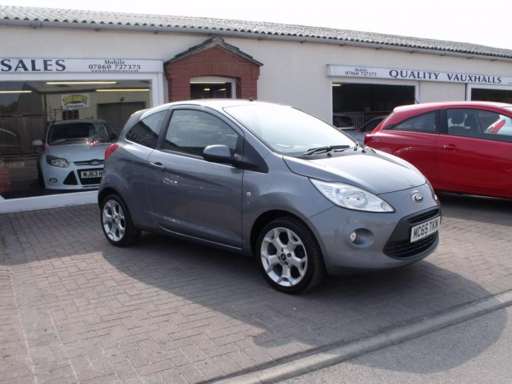 MC65TKN - Ford KA Zetec 3 door hatchback 1242cc