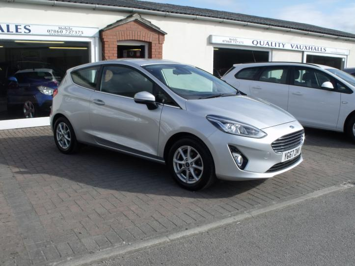 YG67ZMV - Ford Fiesta 1.1 Zetec new shape 3 door hatchback 1084cc