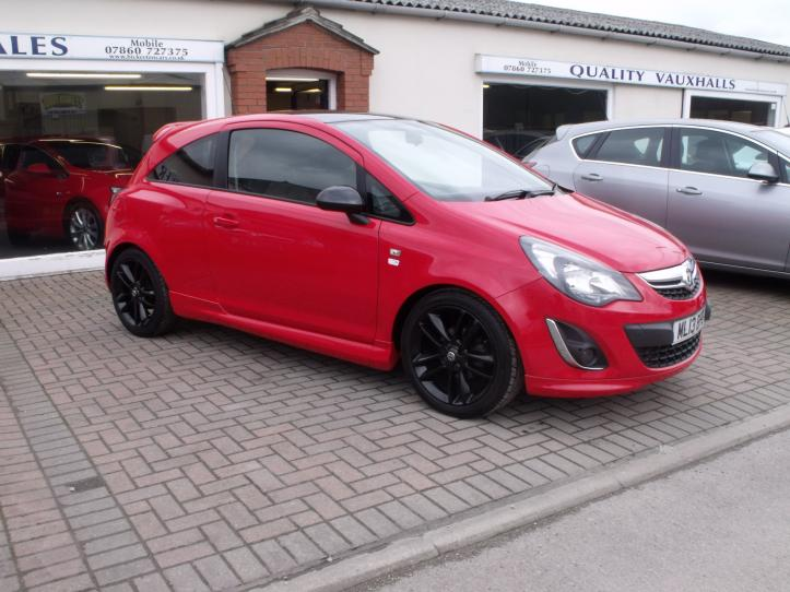 ML13BPE - Vauxhall Corsa 1.2 limited edition 3 door hatchback 1229cc
