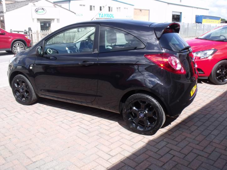 NK16ZXP - Ford KA Zetec Black Edition 3 Door Hatchback 1242cc