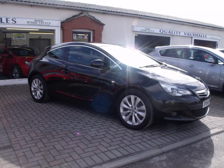 DY64 FOK - Vauxhall Astra GTC 1.6 CDTI Diesel SRI 3 door coupe 1600cc