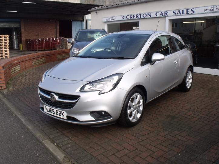 NJ66 BBK - Vauxhall Corsa 1.4 Energy 3 door hatchback 1398cc