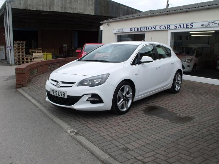 FE15LVB - Vauxhall Astra 1.6 Limited Edition 5 door hatchback 1598cc