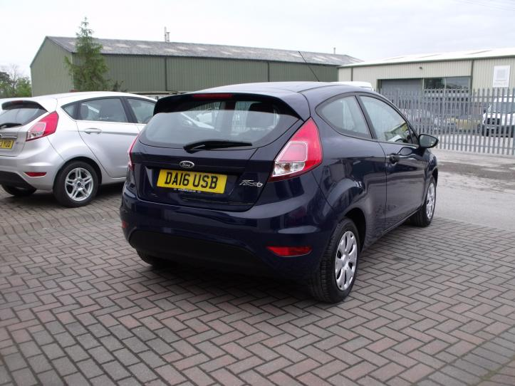 DA16USB - Ford Fiesta 1.25 Studio 3 door hatchback 1242cc