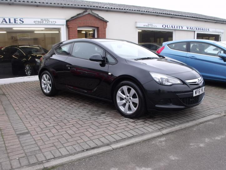 WF16 YHL - Vauxhall Astra Sport 1.4 Turbo 3door Coupe 1400cc