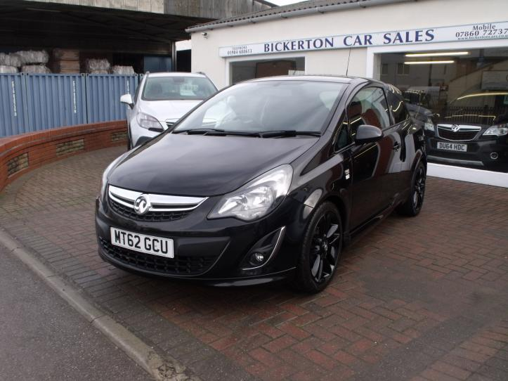 MT62 GCU - Vauxhall Corsa 1.2 limited edition 3 door hatchback 1229cc